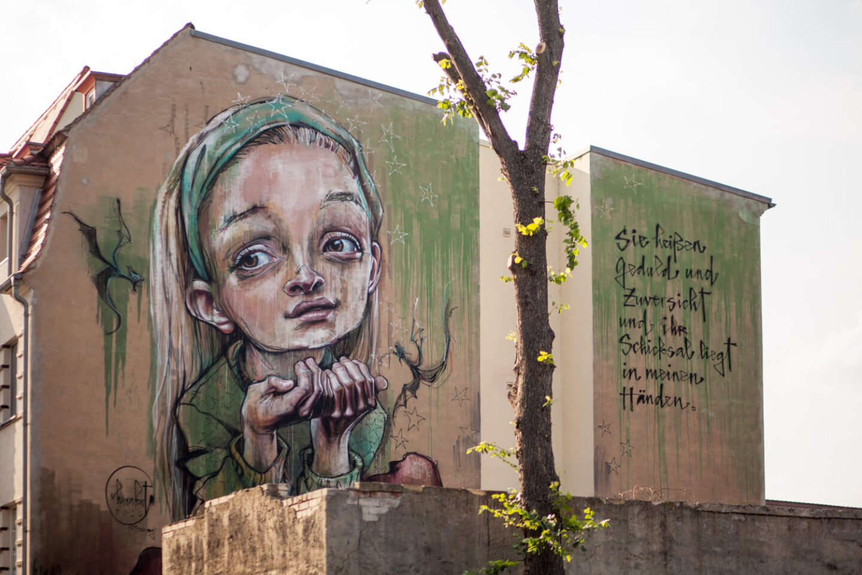 HERAKUT Mural